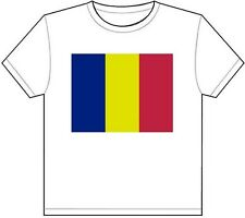 ROMANIA COUNTRY FLAG T-SHIRT TEE PICTURE PHOTO bucharest cluj timis lasi 1716