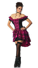 Wild West Showgirl Moulin Rouge Burlesque Can Can Dancer Saloon Girl Costume