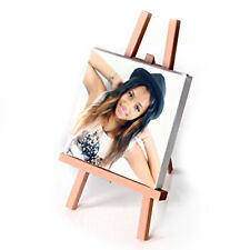 Personalised SQUARE MINI CANVAS plus EASEL for DESKTOP