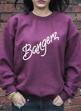 Bangerz Jumper Hoodie Miley Cyrus Wrecking Ball Twerk Can't Stop Hoody J0656