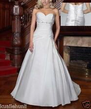 2015 New White/Ivory Wedding dress Bridal Gown Stock Size 6-8-10-12-14-16
