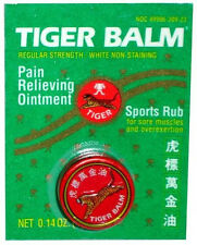 Tiger Balm - Essential Balm Sport Rub NDC Colorless White 4g /Tin - Options 1~24