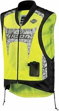 *Fast Shipping* ICON Interceptor Mesh (Mil-Spec Yellow) Motorcycle Vest