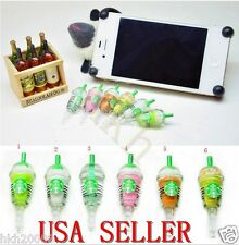 Starbucks Frappuccino Anti-Dust Plug NEW Cell Phone Charm for Iphone,Samsung,etc