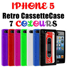 Retro Tape Cassette Gel Silicone Skin Case Cover for Apple iPhone SE 5s 5c 5