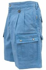 Safari Adventure Shorts for Men River Blue Even Waist Sizes 30 and 32 *SPECIAL*