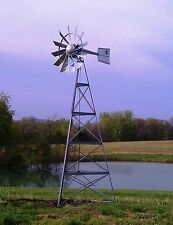 Deluxe 3 Leg Windmill for Pond Aeration System from OWS