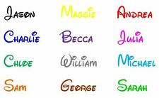 Personalised Disney Style Children's Name Bedroom Wall Art Vinyl Decal Sticker