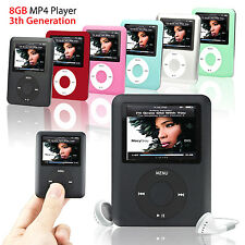 LECTEUR MP3 MP4 PLAYER 8GB 8GO 1,8'' ECRAN LCD RADIO FM AUDIO JEUX VIDEO+HOUSSE