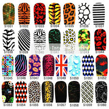 New 3D Nail Art Polish Foil Decal Stickers Tips Wraps Acrylic DIY Decorations S2