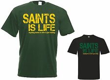 Saints is Life t shirt Northampton / England Rugby Jersey T Shirt