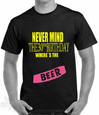 30th birthday,celebration humour t shirt,punk,gift,all sizes  available