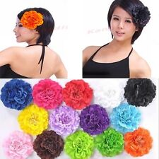 3pcs Fashion Lady Girl Elegant Lovely Peony Hair Clip Brooch Pin For Belly Dance