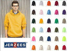 JERZEES NuBlend Hooded Fleece Sweatshirt 996M S-4XL Hoodie cotton/polyester