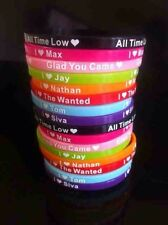 The Wanted Fan Silicone Wristbands x16+++++UK_Seller+++++