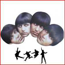 Fab Four The Beatles Famous Band Celebrity Face Masks Hen Stag Fancy Dress Party