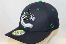 """Vancouver Canucks Hat Cap """"The Shootout Fitted Cap"""" By Zephyr NHL Hats"""