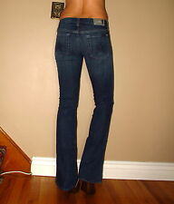 $178 Seven 7 For All Mankind A-Pocket Flare Mid-Rise Jeans Medium-to-Dark 27 29