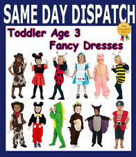 NEW TODDLER FANCY DRESS BOY GIRLS COSTUMES OUTFITS. ANIMAL. AGES 3-4