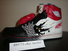 Air Jordan 1 High DW Dave White Wings For The Future 9.5 to 13 concord red black