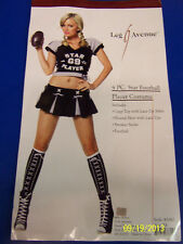 4 pc. Star Football Player Sports Fancy Dress Up Halloween Sexy Adult Costume