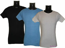 New Men's Thermal Short Sleeve T-Shirt Tops Vests Underwear Size M to XL