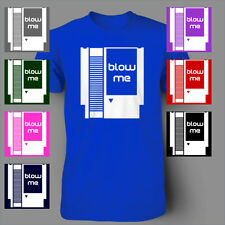 Blow Me Nintendo Game ds Funny wii Mens T-Shirt