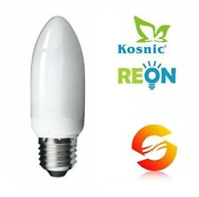 Reon / Kosnic Opal Frosted Candle Energy Saving CFL Compact Fluorescent Bulbs