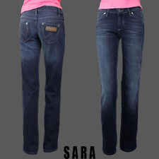 New Womens Wrangler Sara Straight Leg Jeans