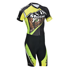 Monton Road Tiger Men's Hight Quality Riding Cycling Skinsuit Jumpsuits