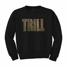 Trill SweatshirtDopeSwag ASAP YMCMB XOHiphop Sweater Leopard print NEW