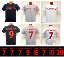 Manchester United Legends Hero Shirt Best Charlton Keane Cantona Beckham Rooney
