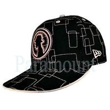 New Era 59Fifty Flat Peak Black/Pink Baseball Cap  mens Size