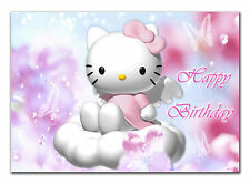 042 Any text Hello Kitty Daughter Grandaughter niece sister goddaughter 7th 8th