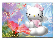 043 Any text Hello Kitty Daughter Grandaughter niece sister goddaughter 9th 10th