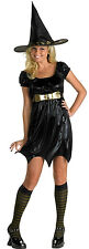 Enchanting Witch Wicked Black Cute Dress Up Halloween Child Teen Adult Costume