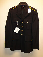 US ARMY DRESS BLUE MENS COAT POLYESTER/WOOL  NEW