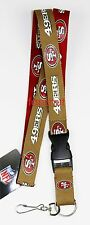 NFL Officially Licensed Two-Tone (2 Tones) Keychain Lanyard (Select Your Team)