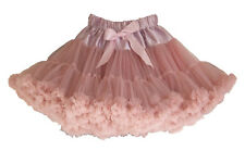 DUSKY PINK pettiskirt tutu in sizes 1-12 years over 40 meters of chiffon