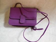 Lovely Ladies Girls Leather Mini Small Adjustable Shoulder Bag Handbag Purple