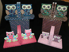 Priscilla Owl Bookends & Owl & Branch Bookends ideal childrens play room Study