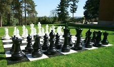 New Replacement Giant Chess Pieces Plastic King Queen Bishop Rook Available