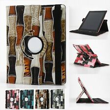 For iPad 4 4G Gen 3 3rd 2 360 Rotating Magnetic PU Leather Case Smart Cover