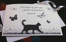 Personalised Loss of Beloved Pet Sympathy Condolence Bereavement Card