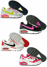 Scarpe Nike Air Max Skyline GS Bianco Rosa Fucsia Trainers  Nuovo Sneakers