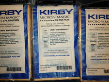 9 Genuine Kirby Micron Magic Bags - Legend 2,G3,G4,G5,G6,G2000,G2001 and more