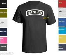 United States Army Rangers T-Shirt US Military Ranger Airborne Shirt SZ S-5XL