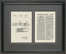 Patent Art - Guided Missle - Military Contractor Artwork Wall Hanging Gift B2794