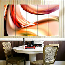 Abstract ready to hang 5 panel set wall art mounted on MDF/betterThan canvas art