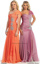 SALE ! NEW LONG FORMAL SPECIAL OCCASION GOWN PAGEANT EVENING DRESSES & PLUS SIZE